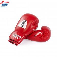 Перчатки боксерские Green Hill Super Star BGS-1213a 12 унций кожа красные дизайн 2017 г