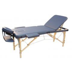 Складной массажный стол Oxygen Ecoline 100 (синий агат)