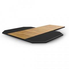 Платформа из спрессованной резины с деревянной вставкой Matrix Magnum MG-MR690P