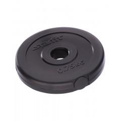 Диск для штанги пластиковый StarFit BB-203 d-26 мм 0,75 кг