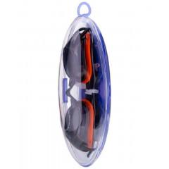 Очки для плавания LongSail Spirit L031555 черный/оранжевый