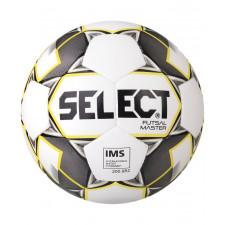 Мяч футзальный Select Futsal Master р.4 бел/жел/черный