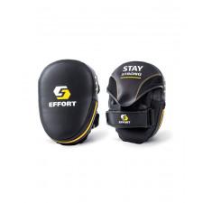 Лапа боксерская изогнутая Effort E603-2
