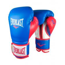 Перчатки боксерские Everlast Powerlock P00000727 14 унций синий/красный