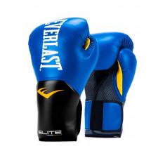 Перчатки боксерские Everlast Elite ProStyle P00001205 14 унций синий