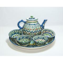 Чайный сервиз ручной работы из Узбекистана