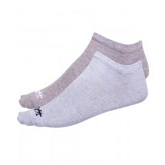 Носки низкие StarFit SW-205 р.39-42 2 пары голубой меланж/светло-серый меланж