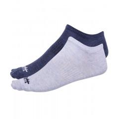 Носки низкие StarFit SW-205 р.43-46 2 пары голубой меланж/синий меланж