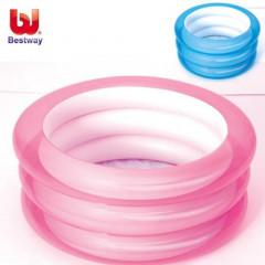 Бассейн Bestway 51033 надувной круглый - 3 кольца, 70х30см