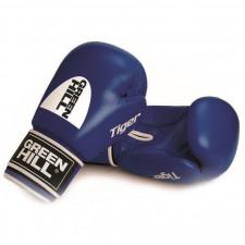 Перчатки боксерские Green Hill Tiger арт. BGT-2010c-10-BL 10 унций синий