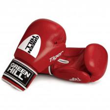 Перчатки боксерские Green Hill Tiger арт. BGT-2010c-12-RD 12 унций красные