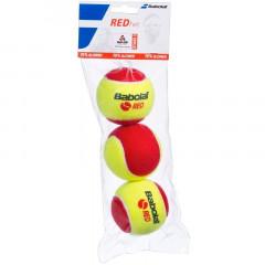 Мяч теннисный Babolat Red арт.501036 уп.3 шт