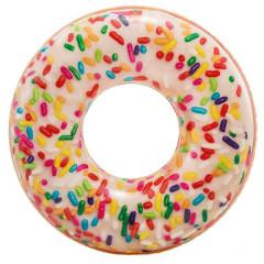 Надувной круг пончик Intex 56263NP Sprinkle Donut Tube 114см 9+