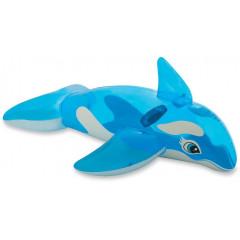 Надувная игрушка Intex Lil Whale Ride-On 58523NP (163х76см) 3+