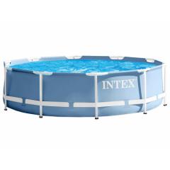 Каркасный бассейн Intex Prism Frame Pool 26718 FR (366х122см) с фильтр-насосом и лестницей