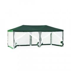 Тент садовый из полиэстера Green Glade арт.1056 (3x6x2,5м) зеленый