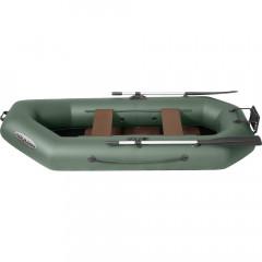 Лодка гребная ПВХ Лоцман С-260 ЖСП Зеленый