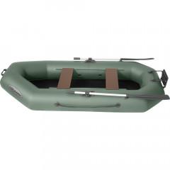 Лодка гребная ПВХ Лоцман С-260 П Зеленый