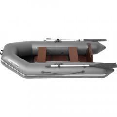Лодка моторно-гребная ПВХ Лоцман М-260 ЖС Серый