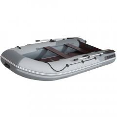 Лодка моторно-гребная ПВХ Лоцман М-350 (киль) Серый/светло-серый