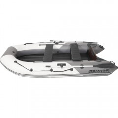 Лодка моторно-гребная ПВХ Пилот М-330 НД НД Серый/светло-серый