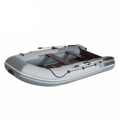 Лодка моторно-гребная ПВХ Пилот М-340 Серый/светло-серый
