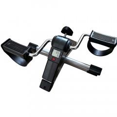 Велотренажер мини DFC B8207B черный с серым