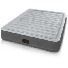 Двуспальная надувная кровать Intex 67770 Comfort-Plush Airbed + насос (152x203x33см)