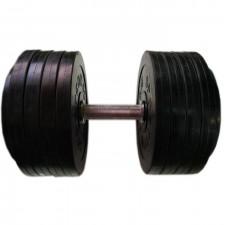Гантель разборная обрезиненная СпортКом 47 кг.