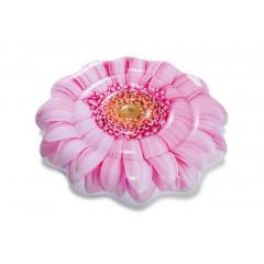 Плавательный матрас надувной Intex 58787 Розовая Гербера (142х142см)