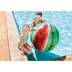 Пляжный надувной мяч Intex 58075 Арбуз Реалистик (107 см) от 3лет