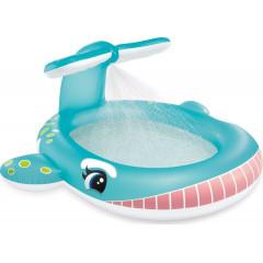 Детский надувной бассейн Intex 57440 Кит (201х196х91см) от 2лет