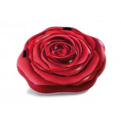 Плавательный матрас надувной Intex 58783 Алая Роза (137х132 см)