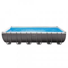 Прямоугольный каркасный бассейн Intex 26368 Ultra XTR Frame (732х366х132см)
