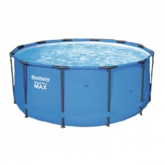 Круглый каркасный бассейн Bestway 15428 Steel Pro Max (366х133см)