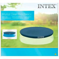 Покрывало (тент) для круглых надувных бассейнов Intex 28020 (58939) (244 см)