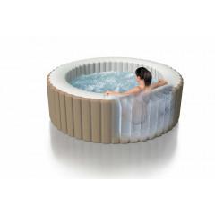 Надувной бассейн джакузи Intex 28408 PureSpa Bubble Massage (216х71см)