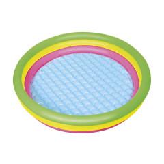Детский круглый бассейн Bestway 51104 (102х25см) 62 л