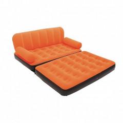 Двухместный надувной диван Bestway 67356 + насос (188х152х64см)
