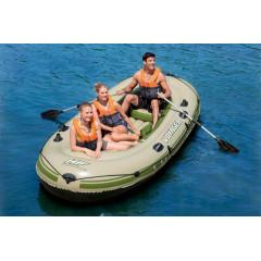 Надувная лодка Bestway 65001 (348х141см) с вёслами