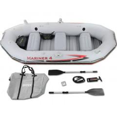 Надувная лодка Intex 68376 Mariner 4 Set + весла + насос