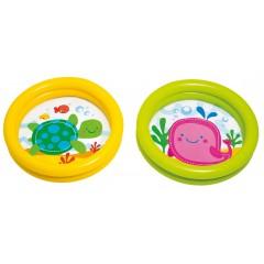 Надувной детский бассейн Intex 59409 My First Pool 61х15см (от 1 до 3 лет)