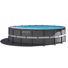 Каркасный бассейн Intex 26334 Ultra Frame Pool (610х122см) + аксессуары