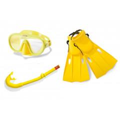 Набор для плавания Intex 55655 Master Class Swim Set (ласты (размер 38-40), маска и трубка) 8+