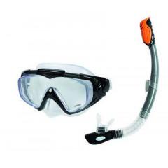 Маска и трубка для плавания Intex 55962 Silicone Aqua Pro Swim Set 14+