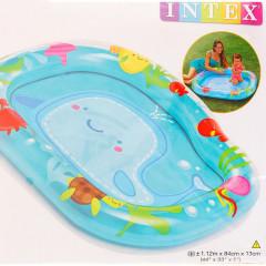 Надувной детский бассейн Intex 59406NP Кит Lil Whale Baby Pool 1+