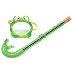 Маска и трубка для плавания Intex 55940 Froggy Fun Set (от 3 до 10 лет)