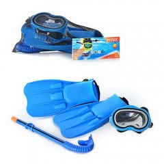 Набор для плавания Intex 55952 Master Class Swim Set (ласты (р.38-40), маска и трубка) 8+