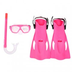 Набор для плавания Bestway 25019 SureSwim (маска,ласты р.37-41,трубка) от 7-14 лет