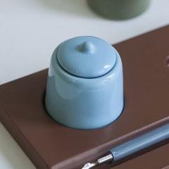 Крышка фарфоровая для чернильницы-непроливайки
